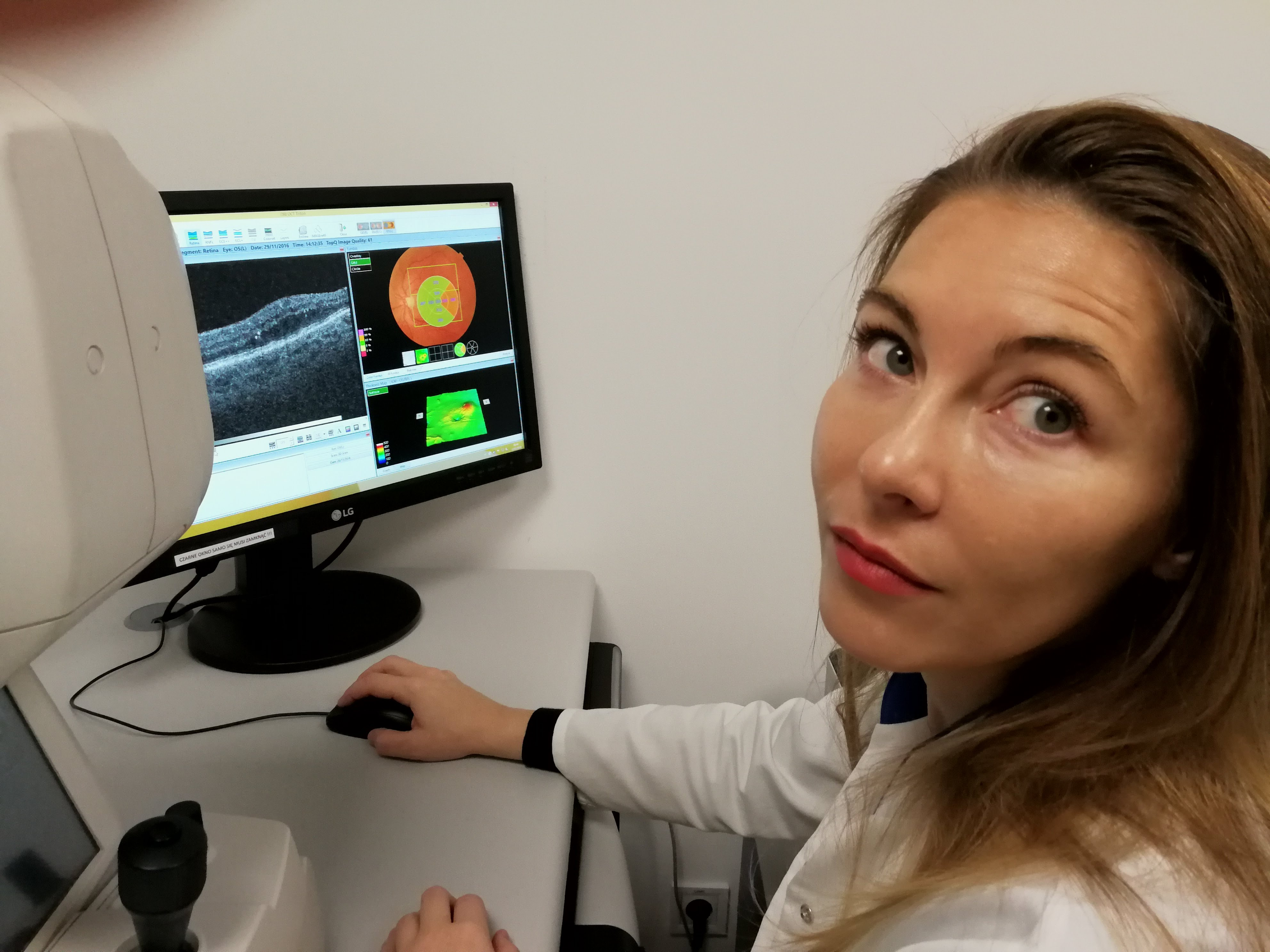 dr Edyta czapczyńska- badanie OCT